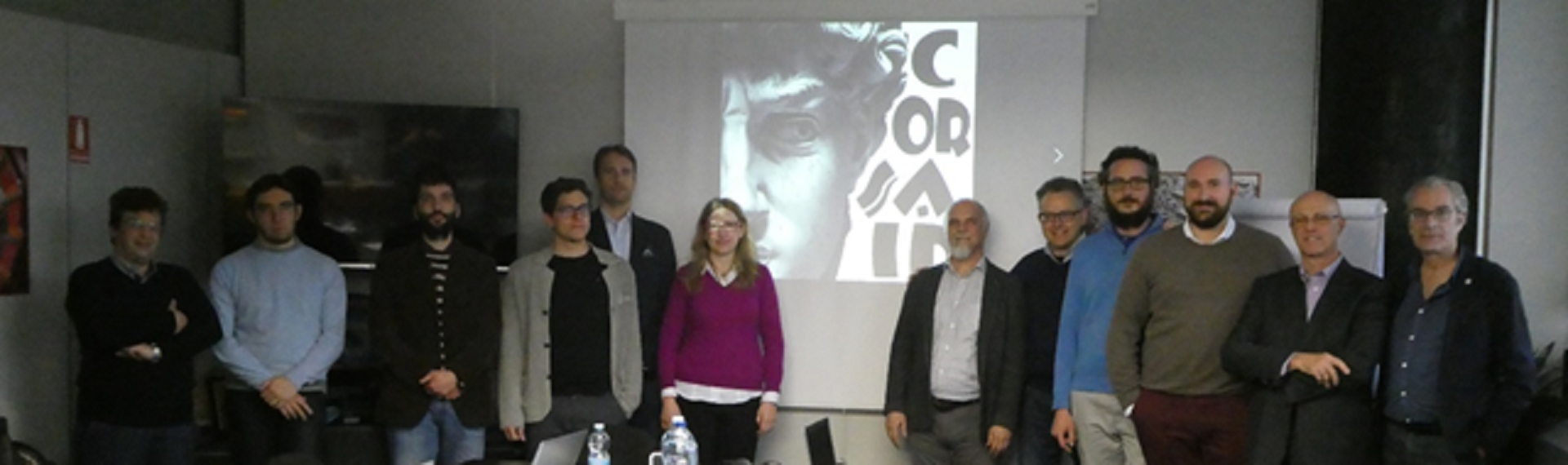 KickOff meeting del progetto CORSAIR